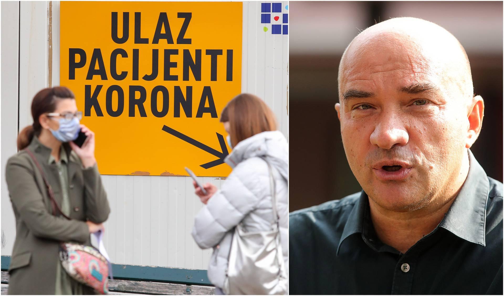 'U Zagrebu je između 50.000 i 100.000 trenutno zaraženih'