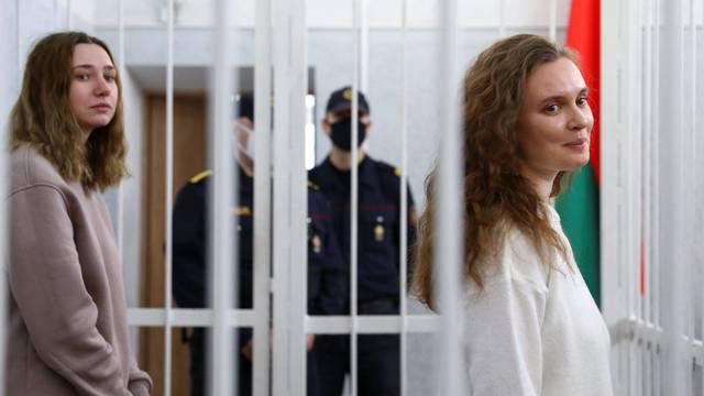Novinarkama iz Bjelorusije 2 godine zatvora zbog snimanja prosvjeda protiv Lukašenka