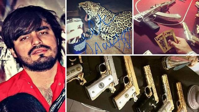 I narko dileri vole Instagram: Zlatne puške, tigrovi, alkohol...