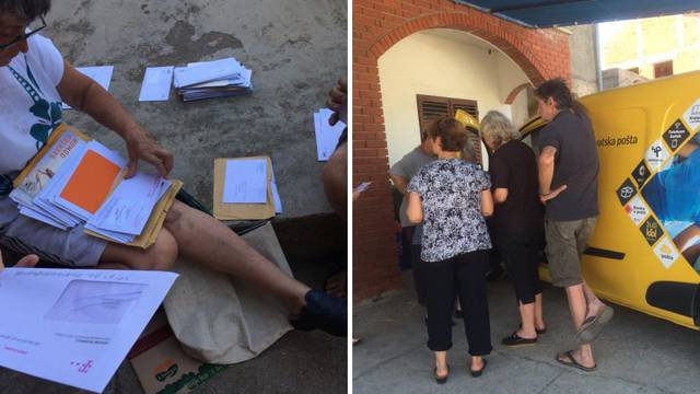 Na Pašmanu nemaju poštara: Pisma si sami dijele na zidiću
