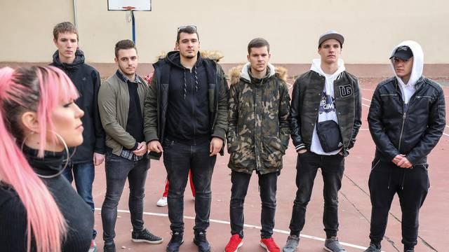 Kandidati talent showa repali usred Zagreba i zavodili cure