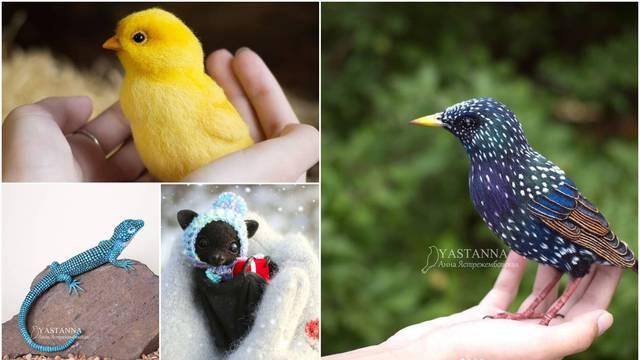 Ruskinja izrađuje igračke koje izgledaju kao prave životinje