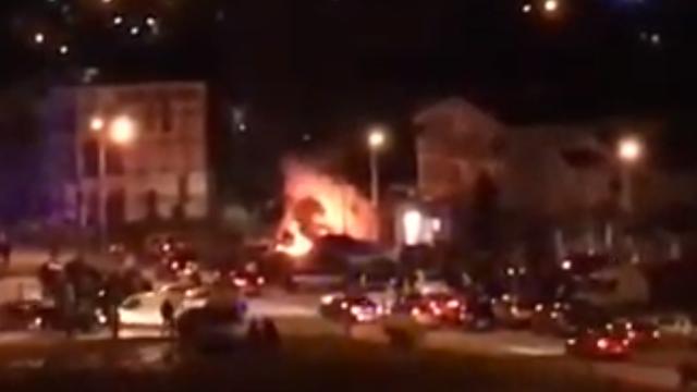 Podgorica: Eksplodirala bomba pod autom, poginuo muškarac