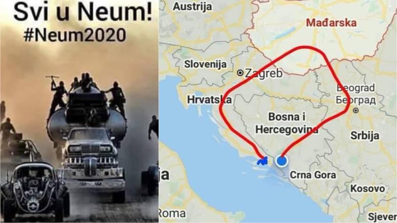 Svi žele u Neum: 'Braćo Hrvati, doći ćete vi nama, čim zagusti'