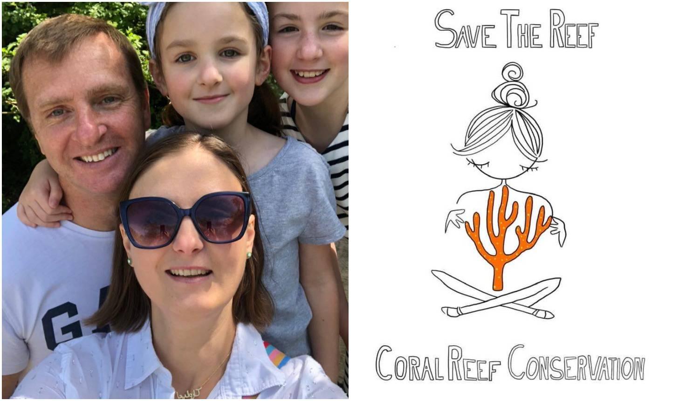 Roditelji s dvije kćeri prodali dom u Londonu kako bi osnovali farmu koralja na Sejšelima
