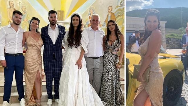 Mama Rimac očarala izgledom na sinovoj svadbi: 'Predivna je! Kao glumica na crvenom tepihu'