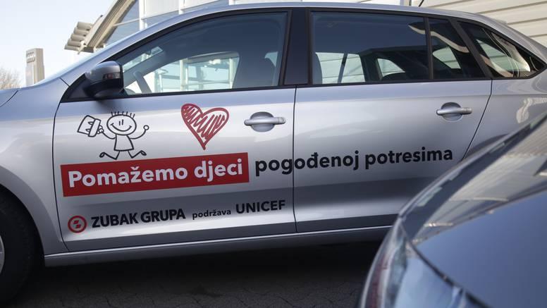 Zubak Grupa uručila vozila UNICEF-u za podršku djeci u područjima potresa