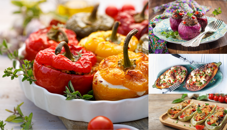 Sve se puni: Paprike, tikvice, rajčice, avokado, patlidžani...