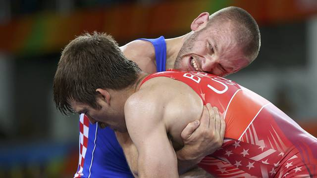 Wrestling - Men's Greco-Roman 75 kg Quarterfinal