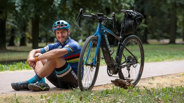 Putopisac i biciklist Hrvoje Jurić: 'Za vrijeme vožnje biciklom  potrošim i osam tisuća kalorija'