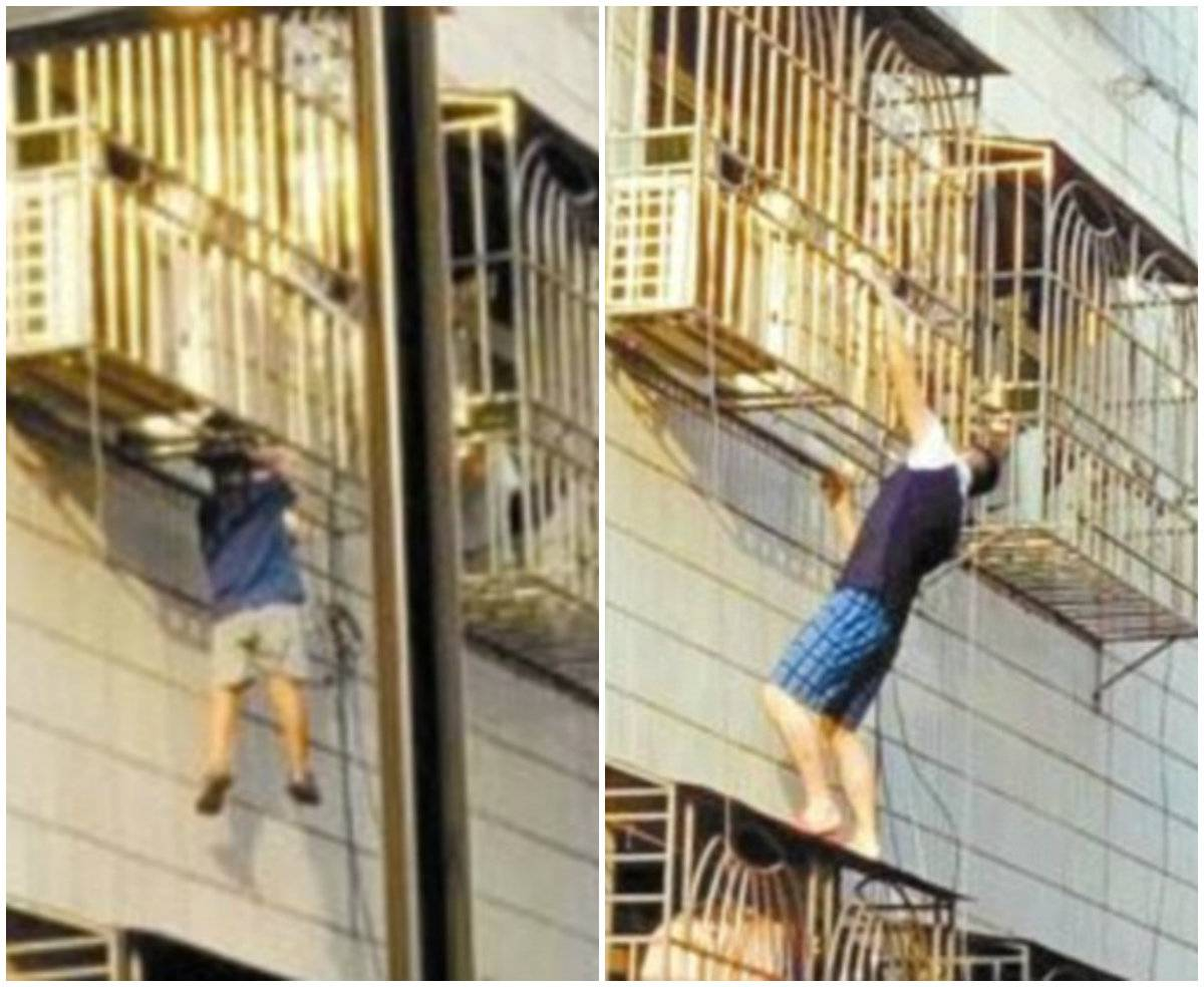 Misteriozni junak: Popeo se na šesti kat kako bi spasio dječaka