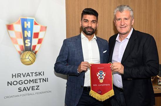 Dudu se vratio u HNS: Sin će mi možda početi igrati u Hrvatskoj