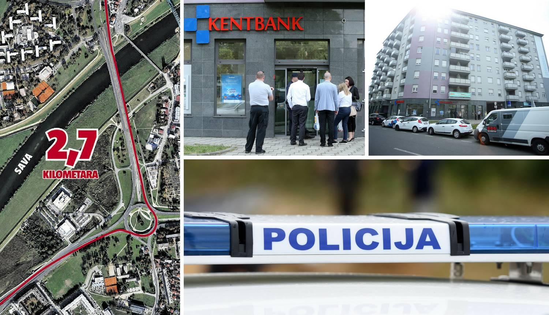 Kaos u Zagrebu: Uletjeli su u dvije banke, a jednu opljačkali