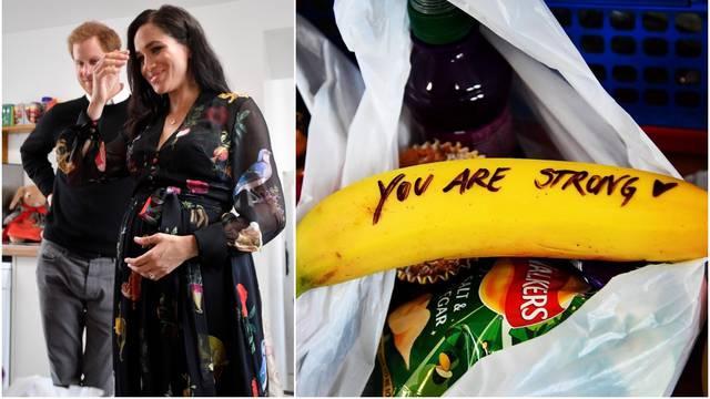 Meghan Markle na bananama napisala poruke prostitutkama