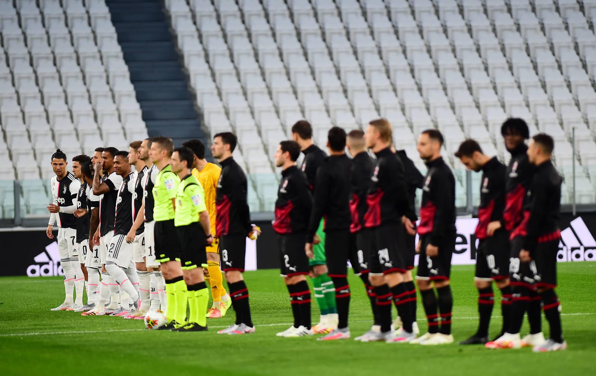 Coppa Italia Semi Final Second Leg - Juventus v AC Milan