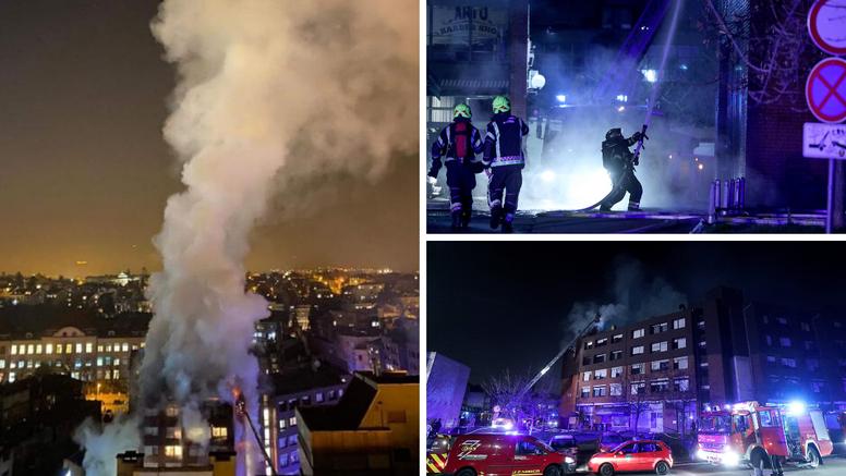 Veliki požar zahvatio je osam stanova, evakuirali sve stanare