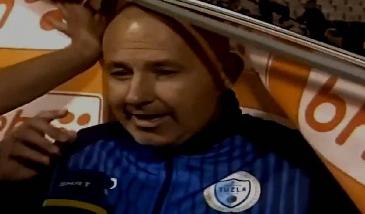 Reklame napadaju: Tuzlanskog trenera pljesnuo baner po glavi