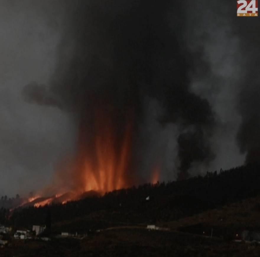 VIDEO Erupcija na Kanarima