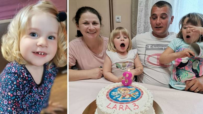 Laru (3) spasila upornost njene mame: Liječnici su govorili da je sve u redu, mama je inzistirala