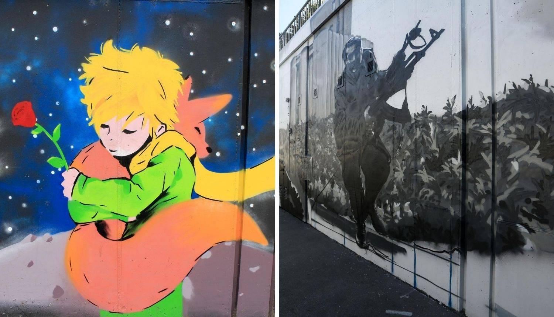 Grafit Malog Princa zamijenio grafit Vukovara i kalašnjikov