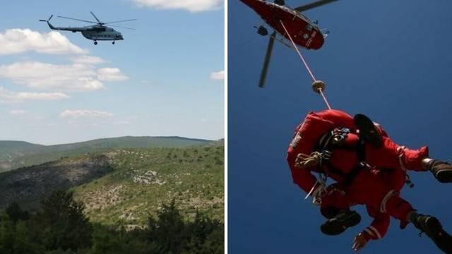 HGSS helikopterom, bespilotnim letjelicama i psima tražilo dijete