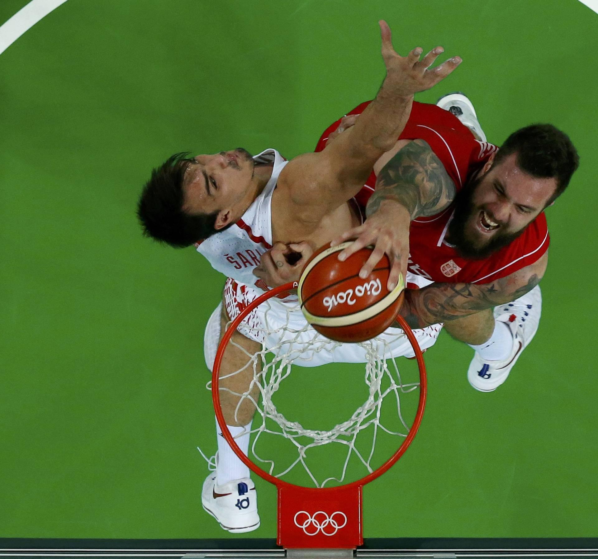 Basketball - Men's Quarterfinal Croatia v Serbia