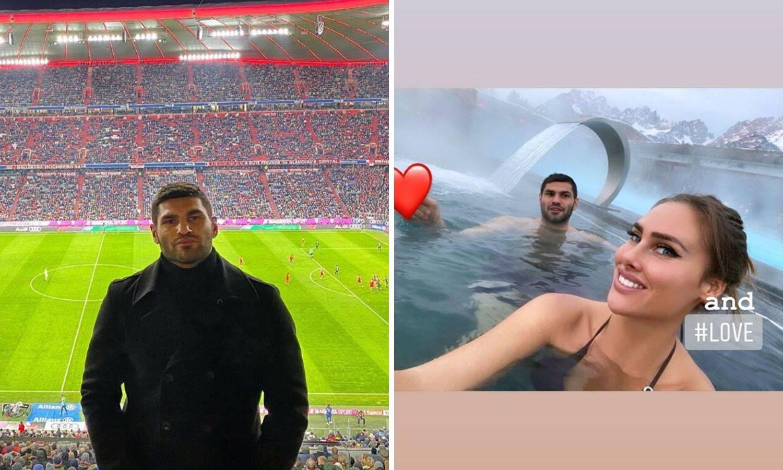 Gledao je Bayern i Perišića, a sad uživa s dragom na kupanju