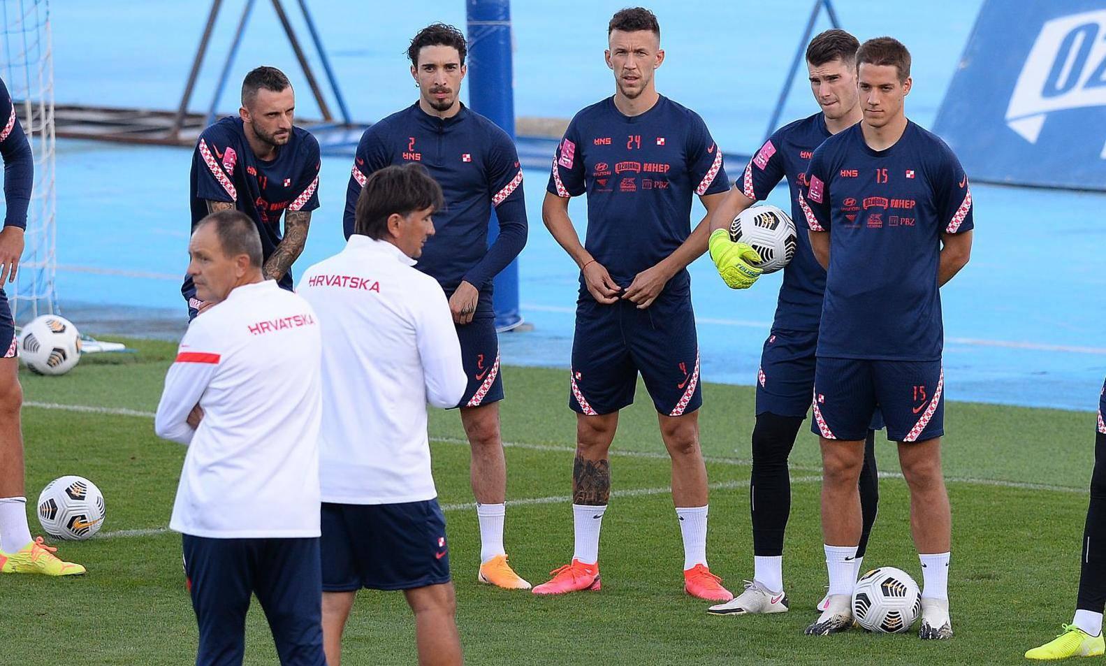 Zagreb: Hrvatski reprezentativci odradili trening prije utakmica u Ligi nacija
