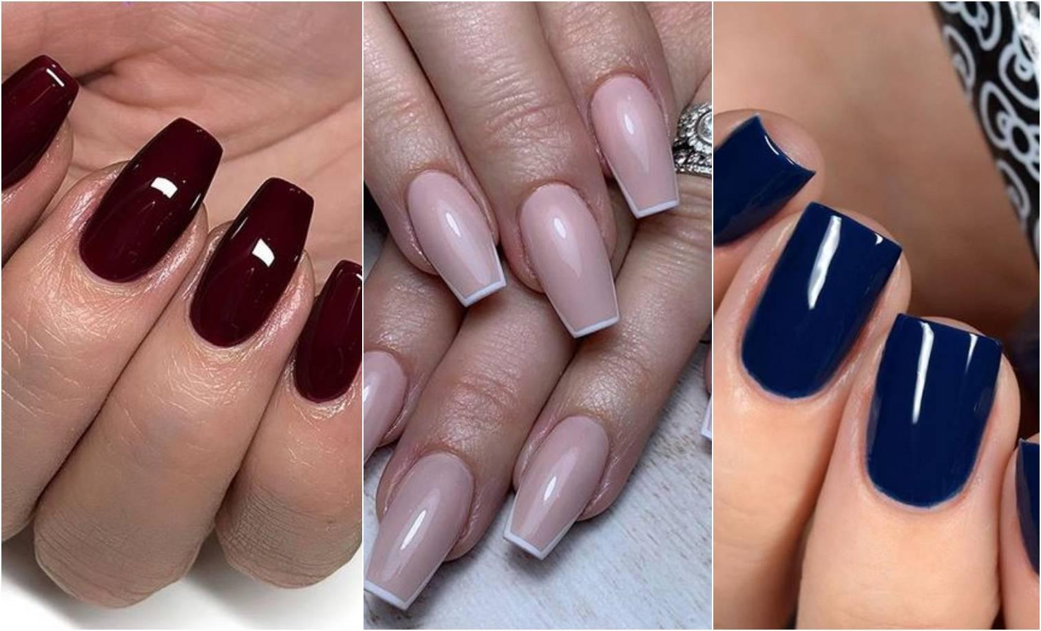 Jesen na noktima: Hit boje su bež te tamne crvena i plava
