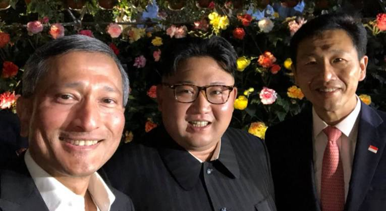 Kim Jong Un pozirao za selfie dok je razgledavao Singapur