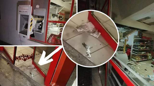 'Sina sam tjerala van, mislila sam da je potres': Razvalili bankomat i pobjegli s novcem