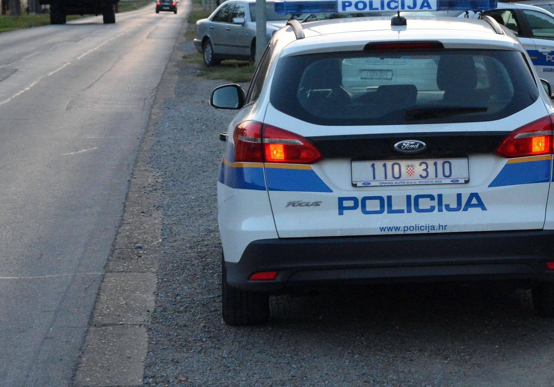 Stari Slatinik: Policijsko vozilo naletjelo na dijete