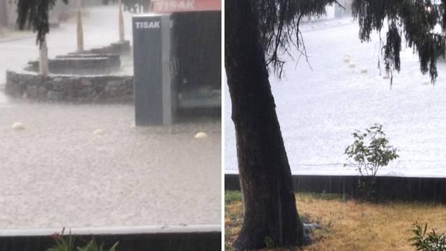 Posljedice nevremena: Deseci poziva, vatrogasci 100 puta ispumpavali poplavljene kuće