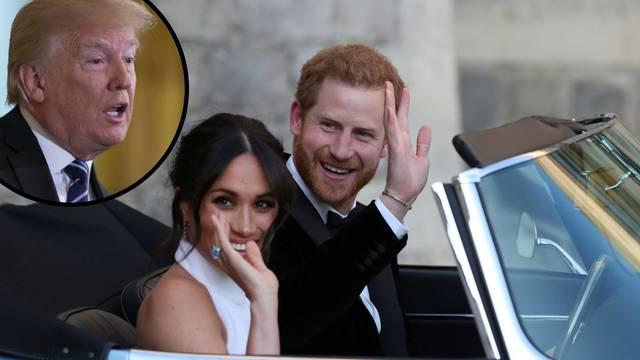 Trump se uvrijedio? Ništa od čestitke Harryju i Meghan...