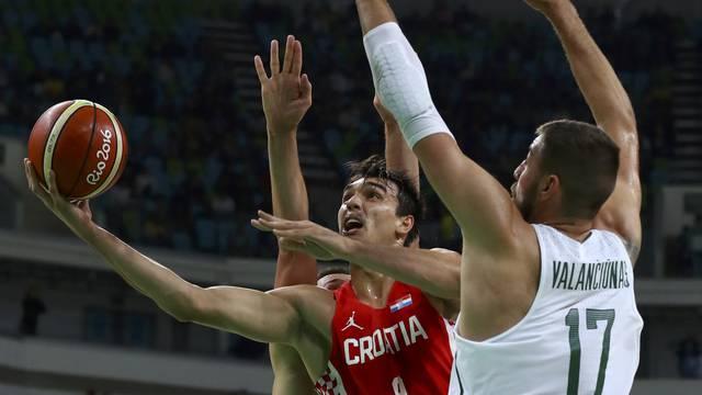 Basketball - Men's Preliminary Round Group B Lithuania v Croatia