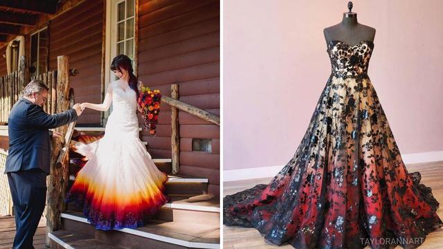 Obojila vlastitu vjenčanicu, a sada slične dizajnira za druge