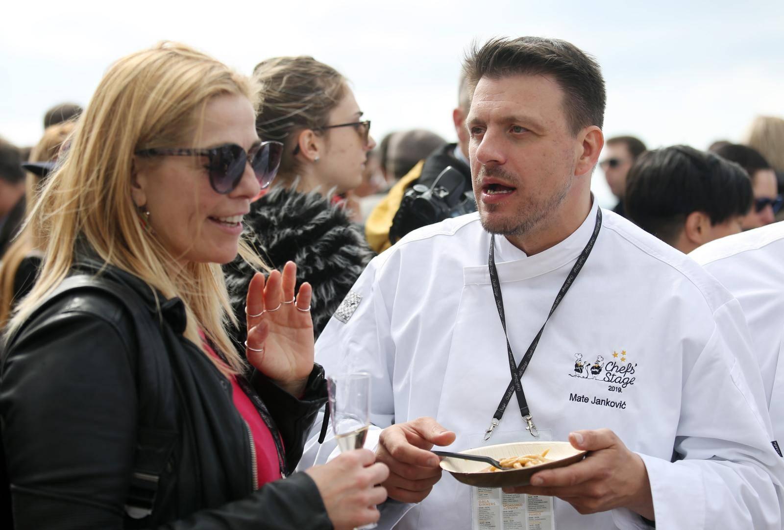 U Šibeniku se danas najbolje jede: Stigla velika Elena Arzak