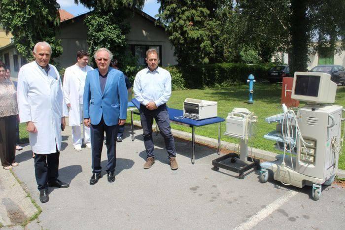 Zasluga dr. Hrgovića: Bolnica u Bjelovaru dobiva novu opremu