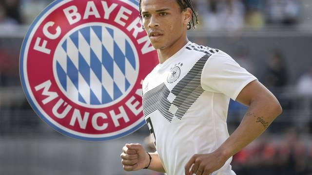 Change Leroy SANE to FC Bayern Munich.