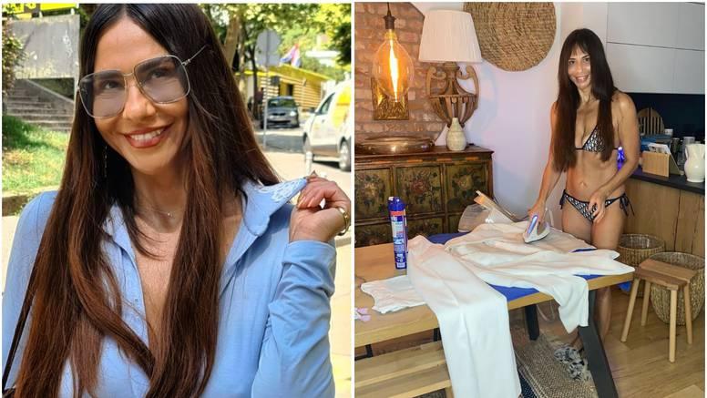 Borna Kotromanić se pohvalila linijom, ali i radišnošću: Volim peglati, a u bikiniju mi bolje ide