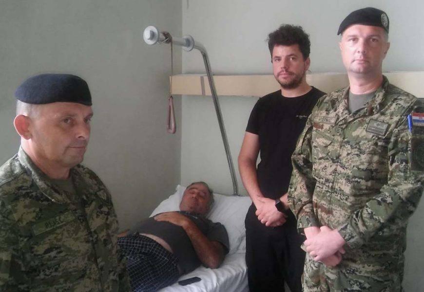 'Vojnik koji je pretukao starca mogao bi biti izbačen iz HV-a'