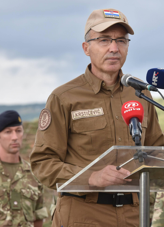 U Kninu održana vojna vježba hrvatske i britanske vojske