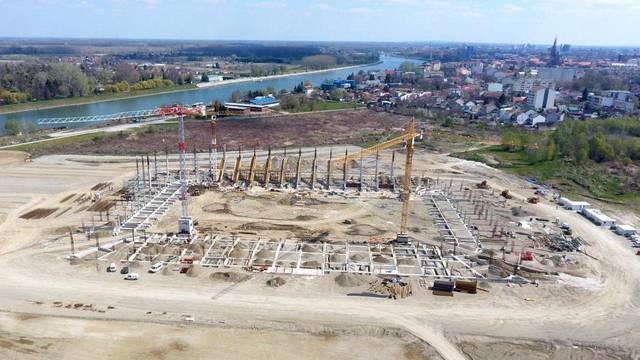 Pogledajte kako Pampas raste, stadion Osijeka lijepo se nazire