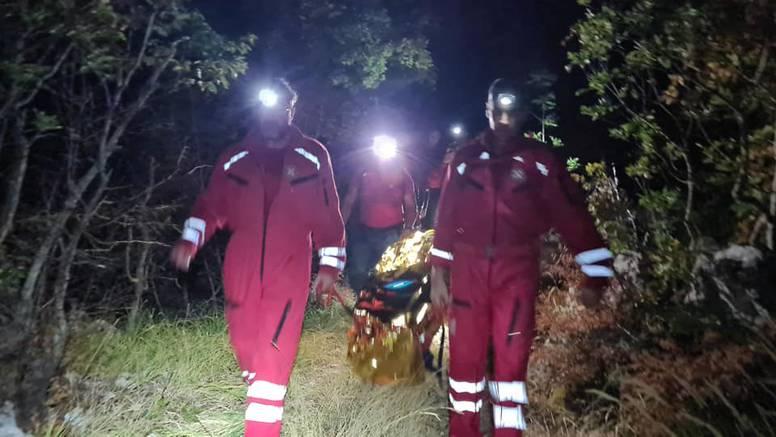Dramatična akcija HGSS-a kod Imotskog: Usred noći spašavali izletnika, sam otišao na brdo