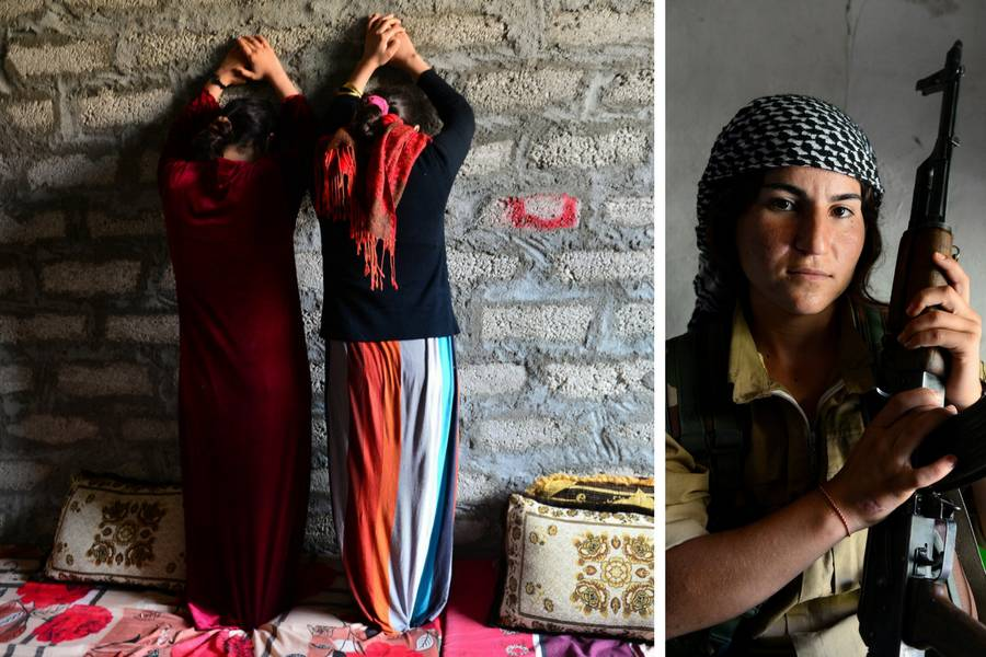 Robinje idu u rat: ISIL-ovci su nas silovali, sad želimo osvetu!