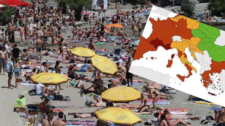 Danas izlazi nova korona karta: 'U četvrtom valu smo, nadam se da ostajemo narančasti i dalje'