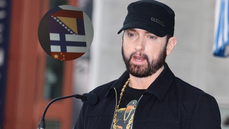 Oduševljenje u BiH: Njihova zastava je u Eminemovu spotu