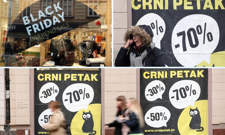 Crni petak: Trgovci ruše cijene proizvoda od 20 do 80 posto...