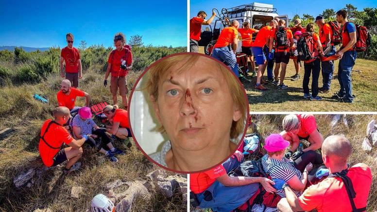 HGSS objavio kako su spašavali ženu na Krku: 'Bila je iscrpljena i dezorijentirana, ozlijeđena'