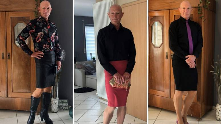 'Obožavam suknje i štikle, a kći i žena me savjetuju oko mode'